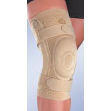 Бандаж коленный c закрытой коленной чашечкой с силиконовой подушечкой и полицентрическим шарниром 8106 и 9106
