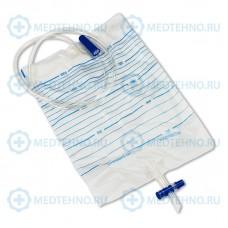 Мочеприемник Vogt Medical прикроватный 1000мл/ 2000мл с крестовым краном