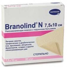 BRANOLIND N / Бранолинд Н - Повязки с перуанским бальзамом (стерильные)