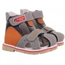 Детские ортопедические сандалии Luomma Lm201 с закрытым носком
