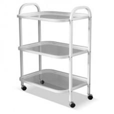Стол инструментальный СИ-3-01 (стекло, нерж.) *